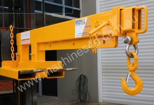 James Crane Jib Attachments for Forklifts