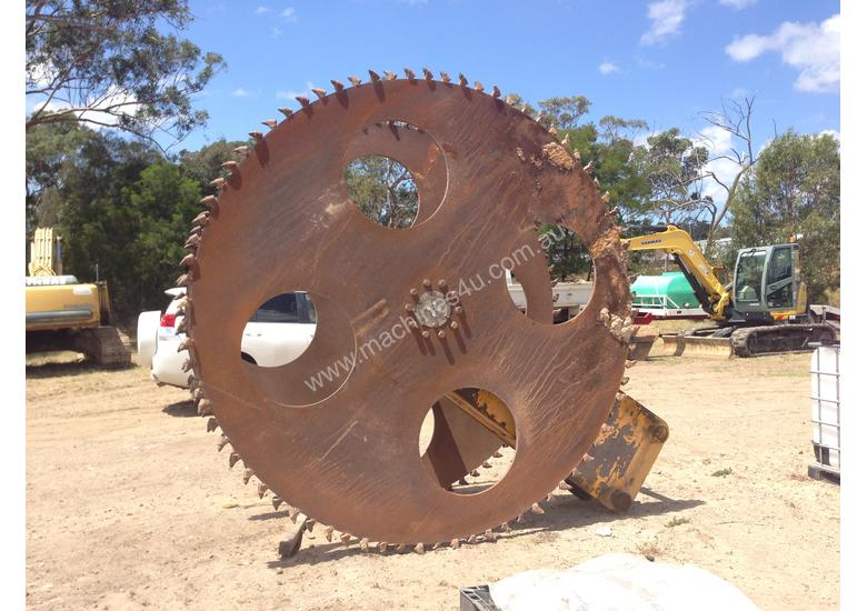 Twin Blade Tungsten Rock Saw