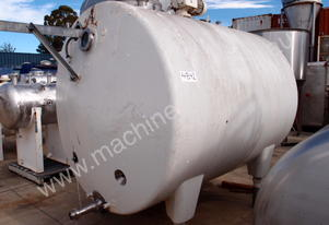 Stainless Steel Mixing Tank - Capacity 4,650 Lt.
