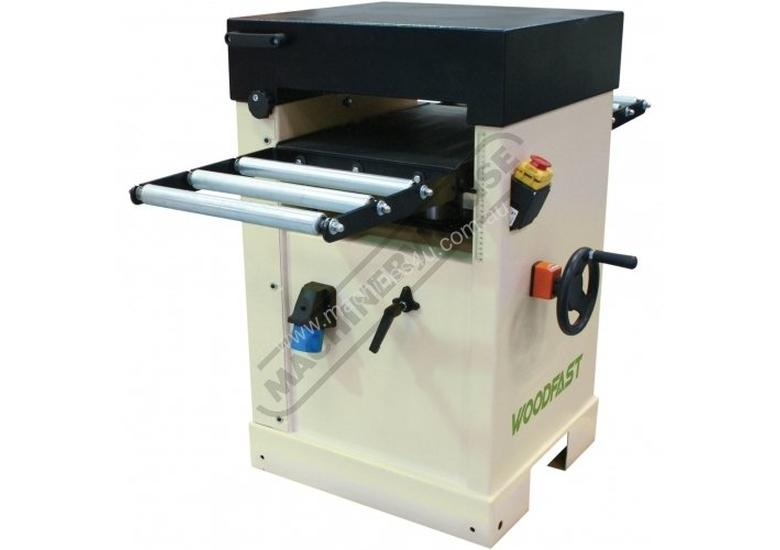 TH410 Thicknesser - HSS Blades 407 x 225mm (W x H) Material Capacity  Includes 3 x High Speed Steel
