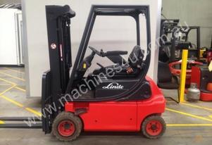 LINDE E18P Counterbalance Forklift