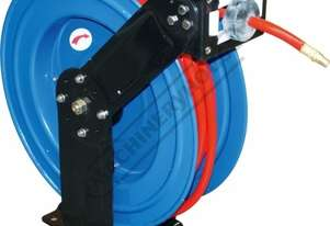 AR-HD1 Industrial Air Hose Reel - Retractable 20 Metre x Ø10mm ID Hose Ø15.5mm OD Hose