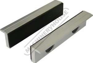 V0535 Aluminium Magnetic Soft Jaws Rubber Face 125mm
