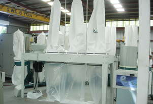ROMAC SF 100 TRIPLE BAG DUST COLLECTOR