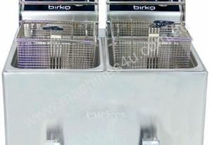 Birko 1001004 Counter- Top Fryer Two Basket 2x8 Lt