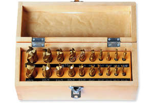20 Pc End Mill and Slot Drill Set