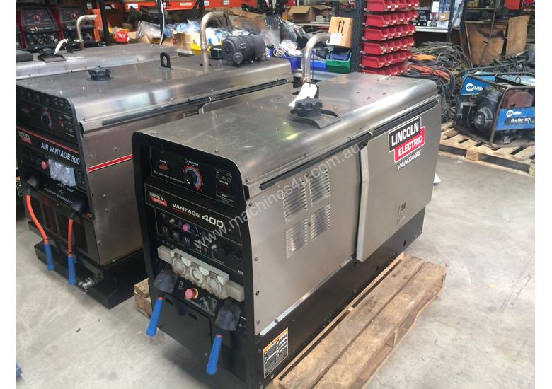 Lincoln Welders For Sale >> Used Lincoln Electric Vantage 400 Diesel Driven Welders In Wacol