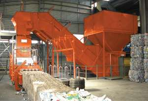 ORWAK HORIZONTAL | Mill size Baler and Compactor | With AUTO TIE | 800kg