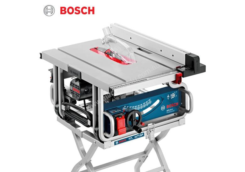 Exceptionnel BOSCH GTS 10 J TABLE SAW + STAND