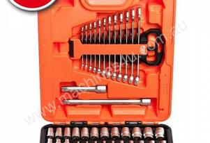 BAHCO TOOLKIT / S81MIX SOCKET SET 81 PCE