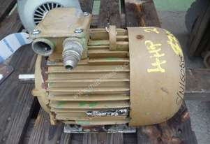 CMG 4HP 3 PHASE ELECTRIC MOTOR/ 2880RPM