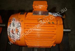 TOSHIBA 10HP 3 PHASE ELECTRIC MOTOR/ 2875RPM