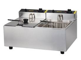 NEW APURO COMMERCIAL DOUBLE DEEP FRYER/ DL891A - picture0' - Click to enlarge