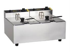 NEW APURO COMMERCIAL DOUBLE DEEP FRYER/ DL891A - picture3' - Click to enlarge