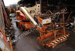 JLG N40e electric , 2wd , knuckle boom