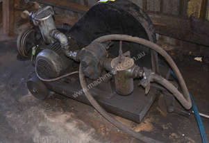 Large Ajax 3 phase 3 HP 2.2kW gear oil pump with f