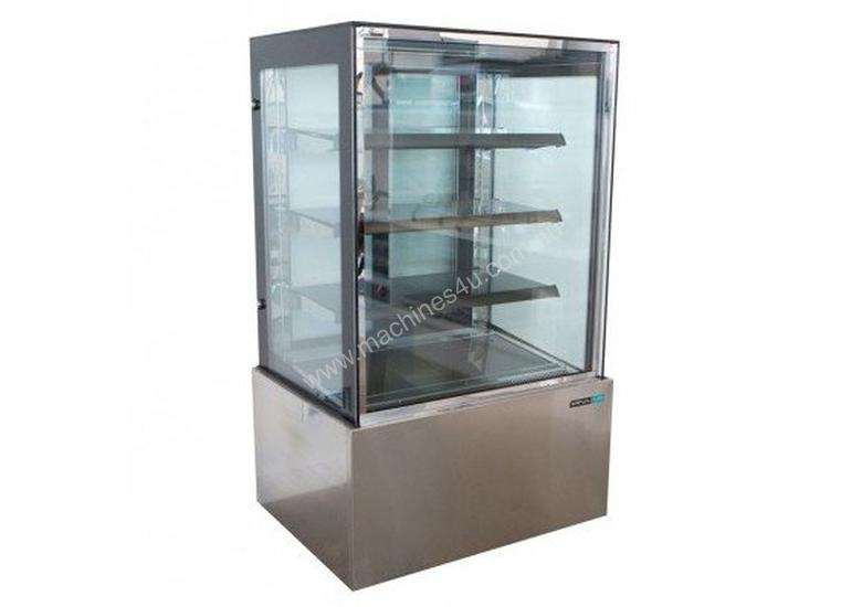 Anvil Aire DSV0860 4 Tier Square Glass Cake Display - 1800mm