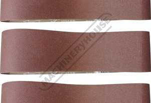 A8060 80G Aluminium Oxide Linishing Belt Pack 1220 x 150mm (48
