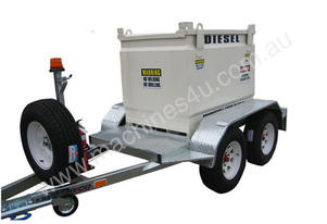 950 LITRE TRAILER MOUNTED PORTABLE DIESEL TANK