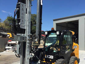 NEW EL-GRA SKID STEER POST DRILL AND DRIVER ATTACH - picture3' - Click to enlarge
