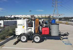 Industrial Vacuum System for Gutter Cleaning