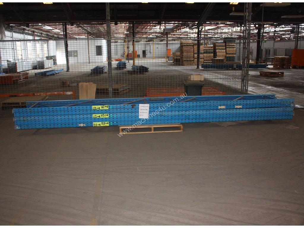 Dexion Pallet Racking Frames 4270mm x 840mm Used