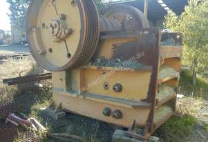 JAQUES 36X25 SINGLE TOGGLE JAW CRUSHER