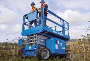 Scissor Lift - 9.7m (32ft) Rough Terrain Genie
