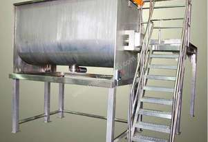 NEW S/S Double Helix Ribbon Blender with platform & access ladder
