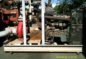 250 x 200 x 400 goulds pump 12ltr mercedes 2010 model  , 67 hrs ,