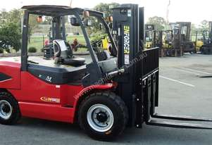 5T LPG or Diesel Forklift, 3.92m 3 stage mast, side shift. Rent to Own available