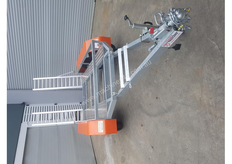 Galvanised Plant Trailer