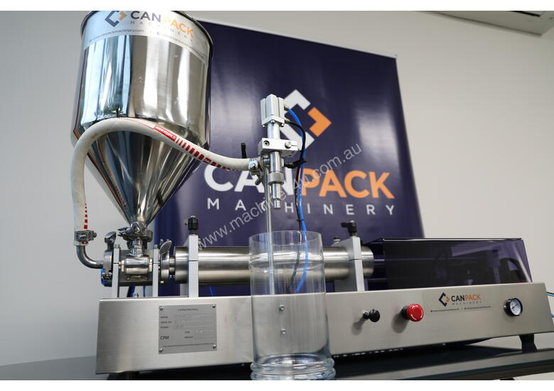 CPM Fully Pneumatic Piston Filler - Different sizes in stock