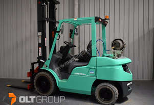 Mitsubishi Forklift with Rotator Attachment FGE30N 2012 Model LPG