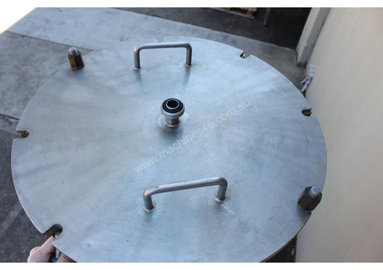 Stainless Steel Jacketed Vessel