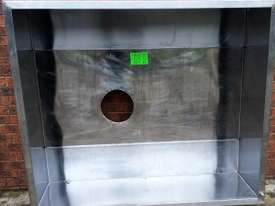 1830 MM USED STAINLESS STEEL PIZZA CANOPY - picture3' - Click to enlarge