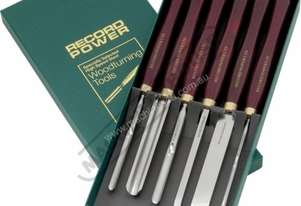 RPCHS6 HSS Spindle Turning Tool Set 6 Piece Professional Chisel Set