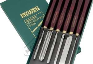RPCHS6 HSS Wood Turning Tools - 6 Piece Set  Professional Chisel Set