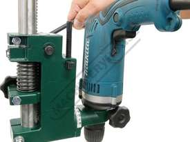 DS-19 Compact Power Drill Stand Spring Return Drilling Head Suits Hand Power Drills with 38mm or 43m - picture18' - Click to enlarge
