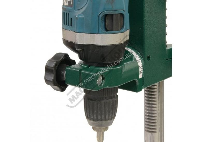 DS-19 Compact Power Drill Stand Spring Return Drilling Head Suits Hand Power Drills with 38mm or 43m