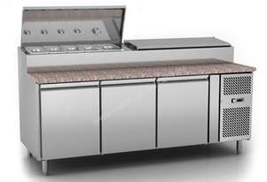 Exquisite MTC360 Sandwich Pizza Prep Bench Fridge