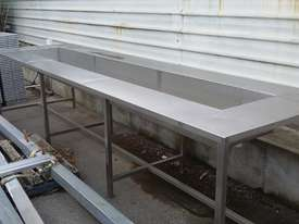 Stainless Steel Sink Bench - picture0' - Click to enlarge