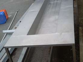 Stainless Steel Sink Bench - picture1' - Click to enlarge