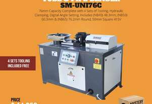 76mm Tube & Pipe Bender With 4 Sets Tooling