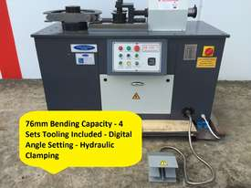 76mm Tube & Pipe Bender With 4 Sets Tooling - picture0' - Click to enlarge