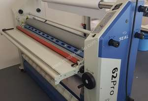 Seal hot and cold roll laminator