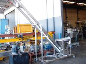 Tubular Screw Conveyor, 75mm Dia x 2850mm H - picture8' - Click to enlarge