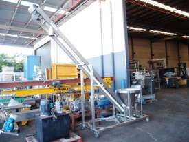 Tubular Screw Conveyor, 75mm Dia x 2850mm H - picture9' - Click to enlarge