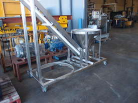 Tubular Screw Conveyor, 75mm Dia x 2850mm H - picture10' - Click to enlarge