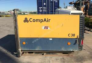 Compair C30 110cfm Diesel Air Compressor